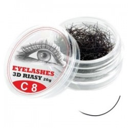 3D lashes mihalnice - C 8