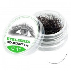 3D lashes mihalnice - C 11
