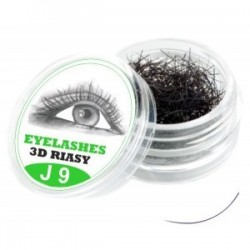 3D Lashes J 9mm