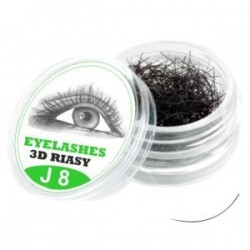 3D Lashes J 8mm